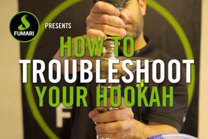How to Troubleshoot Your Hookah