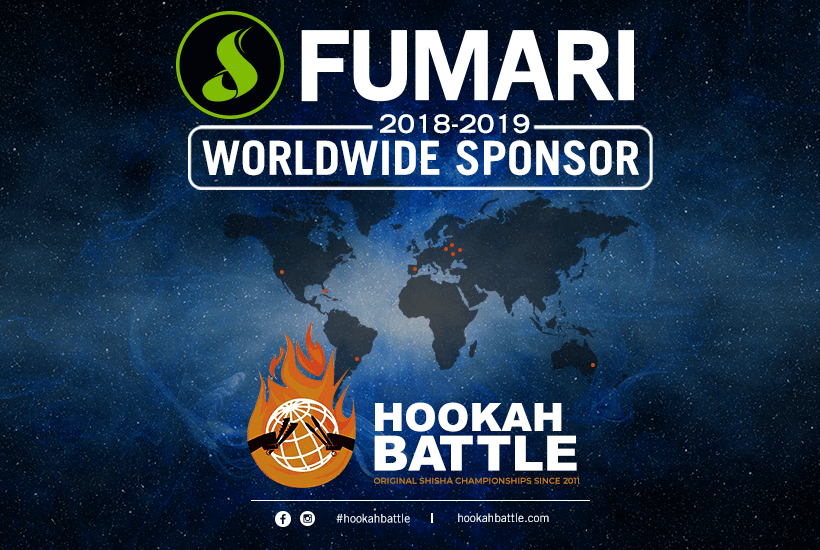 Fumari Proud to Be Official Sponsor for Hookah Battle International Championships